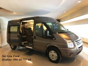 Khuyến mãi Ford Transit Limousine, giao xe...