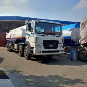 Xe Bồn Hyundai 21 khối,Xe bồn xăng dầu Hyundai HD320 máy điện,máy cơ nhập khẩu nguyên chiếc