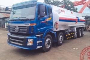 Xe Bồn Auman 5 chân 25 khối,bán xe bồn xăng dầu Auman 25000 lít,Xe bồn Auman