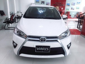 Cần bán Toyota Yaris 1.5G mới 100%, màu trắng giao ngay, chỉ cần 150tr nhận xe ngay