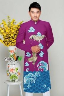 Vải áo dài cách tân nam của Vải Áo Dài Kim Ngọc