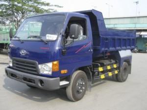 Xe Hyundai - HD65 ben 1t75 vào thành phố -...