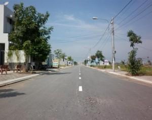 Lô đất mặt tiền đường QL50, gần KCN Tân Kim