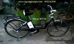 Xe đạp điện Nhật lên tay ga Pas