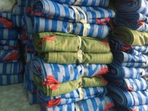 Giường nằm vải lưới dành cho các bé mầm non