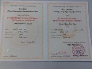 Học văn thư lưu trữ văn bằng 2 tại Hà Nội