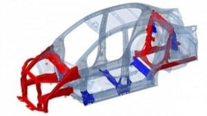 Khung xe Honda city GCON, giúp hấp thụ lực va chạm giúp giảm thiểu chấn thương khi xãy ra tai nạn.