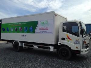 xe tải veam thùng kín vt260 máy huyndai nguyên bản