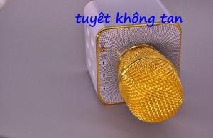 Mic karaoke bluetooth q7 sang choảnh giá cạnh tranh