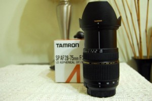 Lens Tamron SP AF 28-75mm F2.8 XR Di LD for...