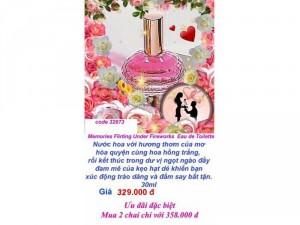 Nước hoa nữ nồng nàn của những cô gái đáng yêu