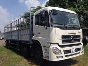 Xe tải thùng Dongfeng Hoàng Huy L315 4 chân/giò 17T9/17.9T/17.9tan/17tan9 (17.9 tấn)