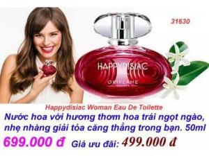 Nước hoa nữ chai thiết kế màu đỏ huyền