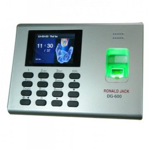 Máy chấm công vân tay DG600ID vừa thẻ từ vừa vân tay