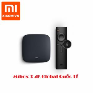 Android Tivi Box Mibox 3 4K Global Quốc Tế Tiếng Việt
