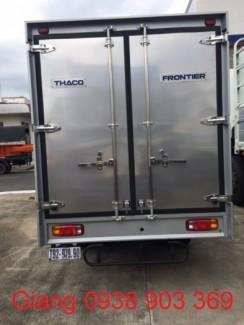 Xe tải 2,4 tấn kia trả góp 75% chạy trong thành phố