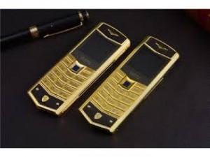 Điện thoại vertu V5 gold