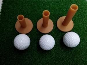 Tee golf cao su, phụ kiện sân tập golf giá tốt nhất