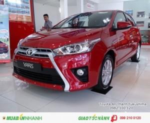 Khuyến Mãi Toyota Yaris 1.5 2018 Màu Đỏ Nhập Khẩu Thái Lan Mới, Mua Trả Góp chỉ cần 200Tr.