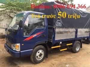 Bán xe tải Jac 2 tấn 5 hạ tải vào thành phố ban ngày
