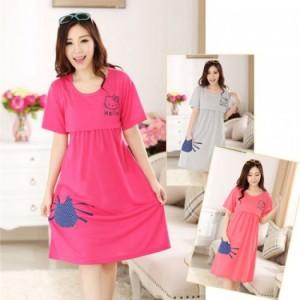 Váy Bầu Kết Hợp Cho Con Bú NX922
