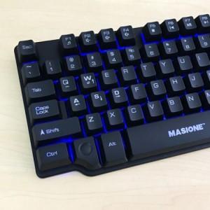 Bàn phím led 7 màu Masione K801