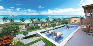 Bán biệt thự view biển bãi dài cam ranh. giá 9 tỷ( full nội thất )