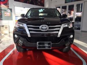 Bán xe Toyota Fortuner 2.7V (4x2), máy xăng, tự động, 01 cầu, màu Xám, giao ngay
