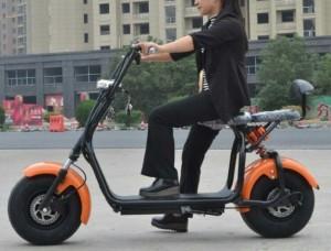 Xe điện bánh to mini Harley phong cách ngầu