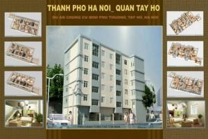 Chung cư mini Phú Thượng - Tây Hồ giá chỉ từ 600 triệu/căn
