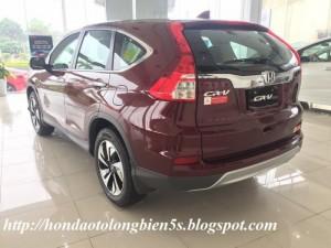 Bán xe Honda CRV 2.4 TG phiên bản cao cấp giá khuyến mại