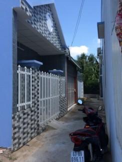 Nhà mới xây 490 triệu/ 72,5m2 đường Lê Văn Phẩm F5 tp Mỹ Tho Tiền Giang