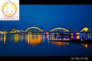 Bán đất đường An Mỹ,Đà Nẵng khu cầu Rồng đ/diện cầu Tình Yêu,phía sau đường Trần Hưng Đạo