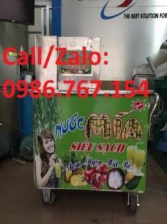 Địa chỉ bán máy ép nước mía siêu sạch 3 lô-4 lô- 5 lô giá rẻ nhất.