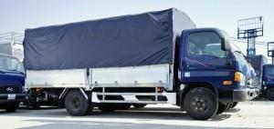 Xe tải HYUNDAI (HD99) 6.5 tấn thùng kín + mui bạt (ĐÔ THÀNH lắp ráp)