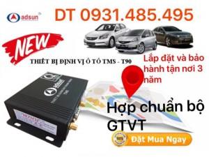 Định vị xe ô tô hợp chuẩn bộ GTVT