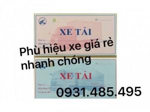 Phù hiệu xe tải ở Vũng Tàu