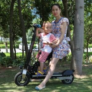 Xe điện 2 ghế ngồi cho mẹ và bé