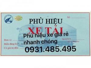 Phù hiệu xe tải ở Long Khánh Đồng Nai
