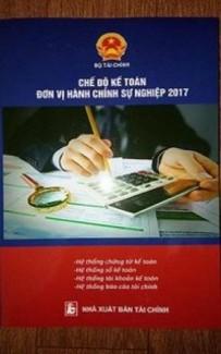 chế độ kế toán đơn vị hành chính sự nghiêp 2017