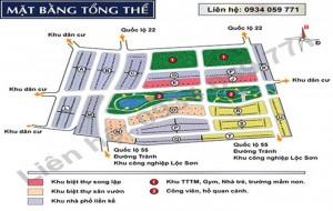 Hot!!! Mở bán 150 nền đất Bảo Lộc Capital chỉ 4,5TR/m2