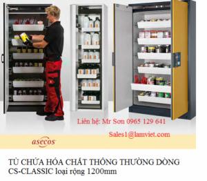 Tủ chứa hóa chất thông thường dòng cs-classic asecos