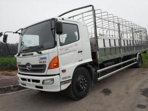 Xe Hino 8 tấn thùng mui phu bạt giá rẻ