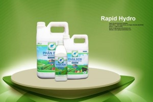 Phân bón hữu cơ vi sinh sạch Rapid Hydro