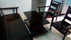 Bàn ghế kiểu xưa dáng pháp đẹp
