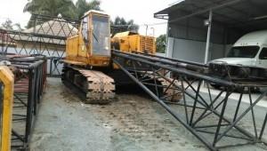 Xe cẩu bánh xích Kobelco 7065 loại 65 tấn