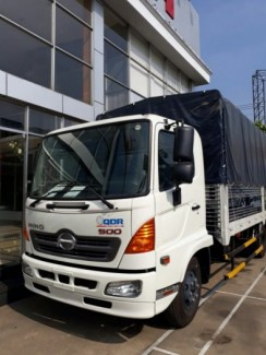 xe tải HINO FC 6.5 tấn mui bat đời 2016