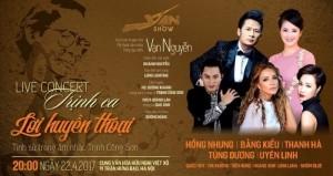 Bán vé Đêm nhạc Trịnh Công Sơn - Trịnh Ca Lời Huyền Thoại 20h ngày 22/4 tại Cung Việt Xô