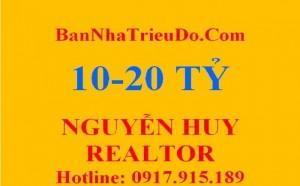 MT Trần Khắc Chân gần Trần Quang Khải, P Tân Định,Q1. DT: 6x14, trệt, lầu, giá: 12,5 tỷ