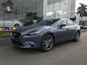 Mazda 6 2.0 Premium 2017 đủ màu, có xe giao ngay, hỗ trợ vay 80% và nhiều quà tặng theo xe giá trị